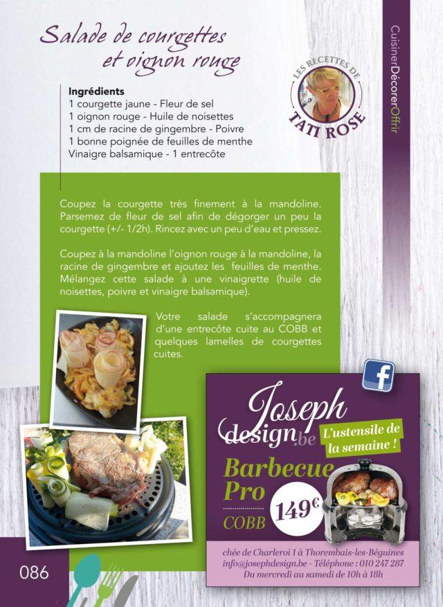 salade courgettes-tati rose-josephdesign-jodoigne
